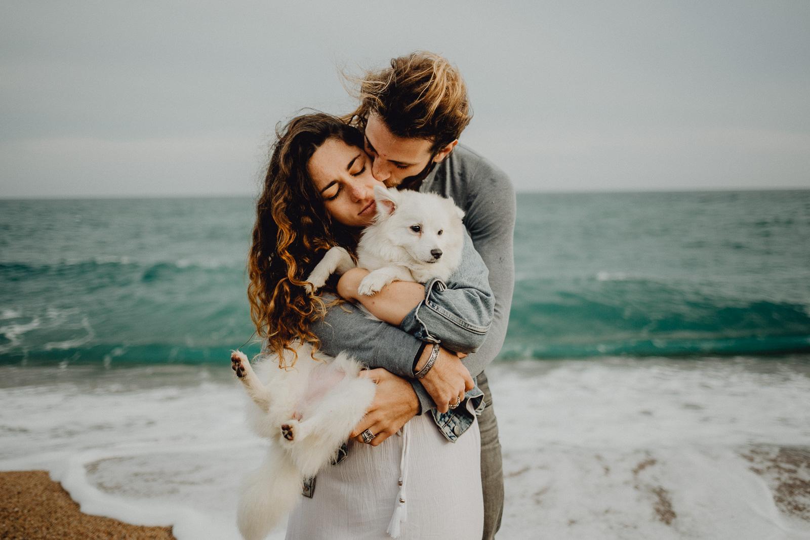 Puppy Love at the Beach (Rural Workshop) by Sabrina Friedrich