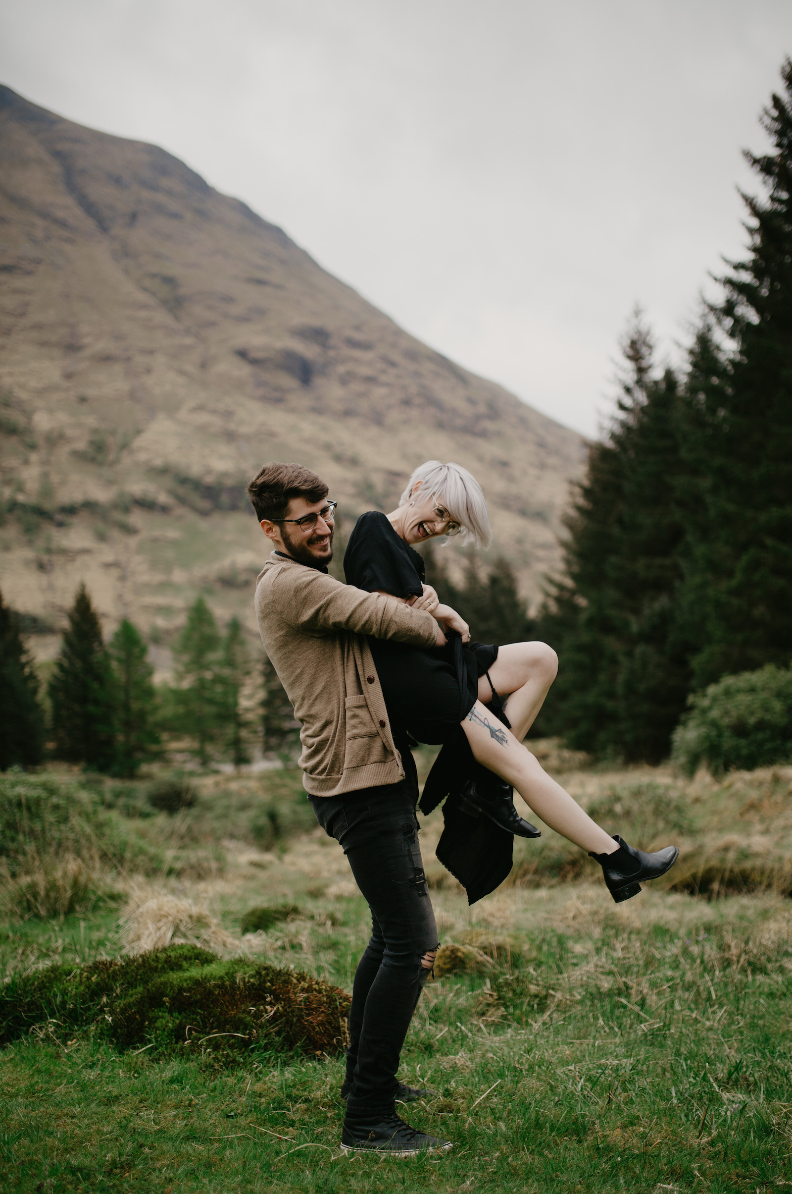 Couples Session in the Scottish Highlands by Tamar Hope Photography