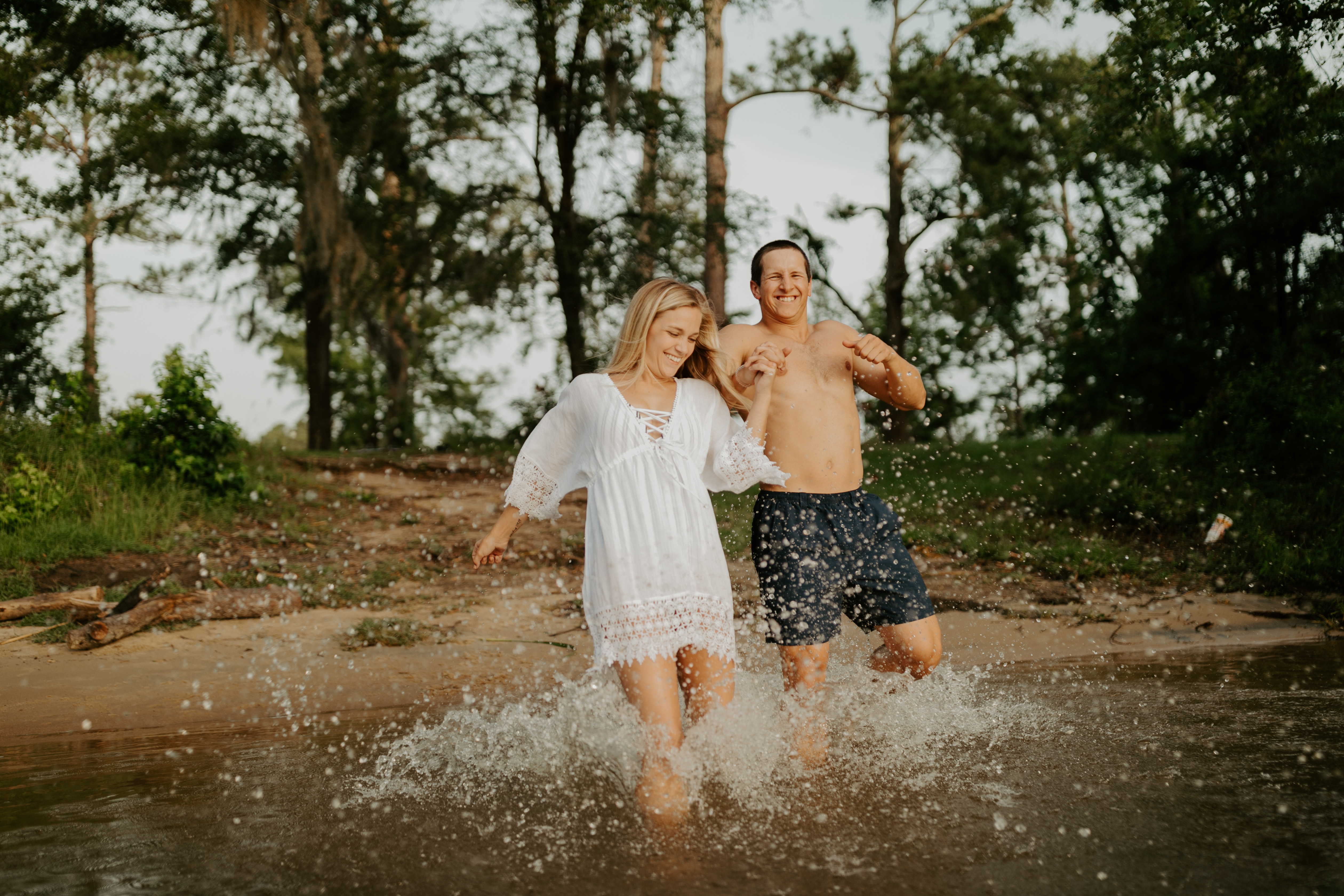 A summer river romance by Sydney Roberson