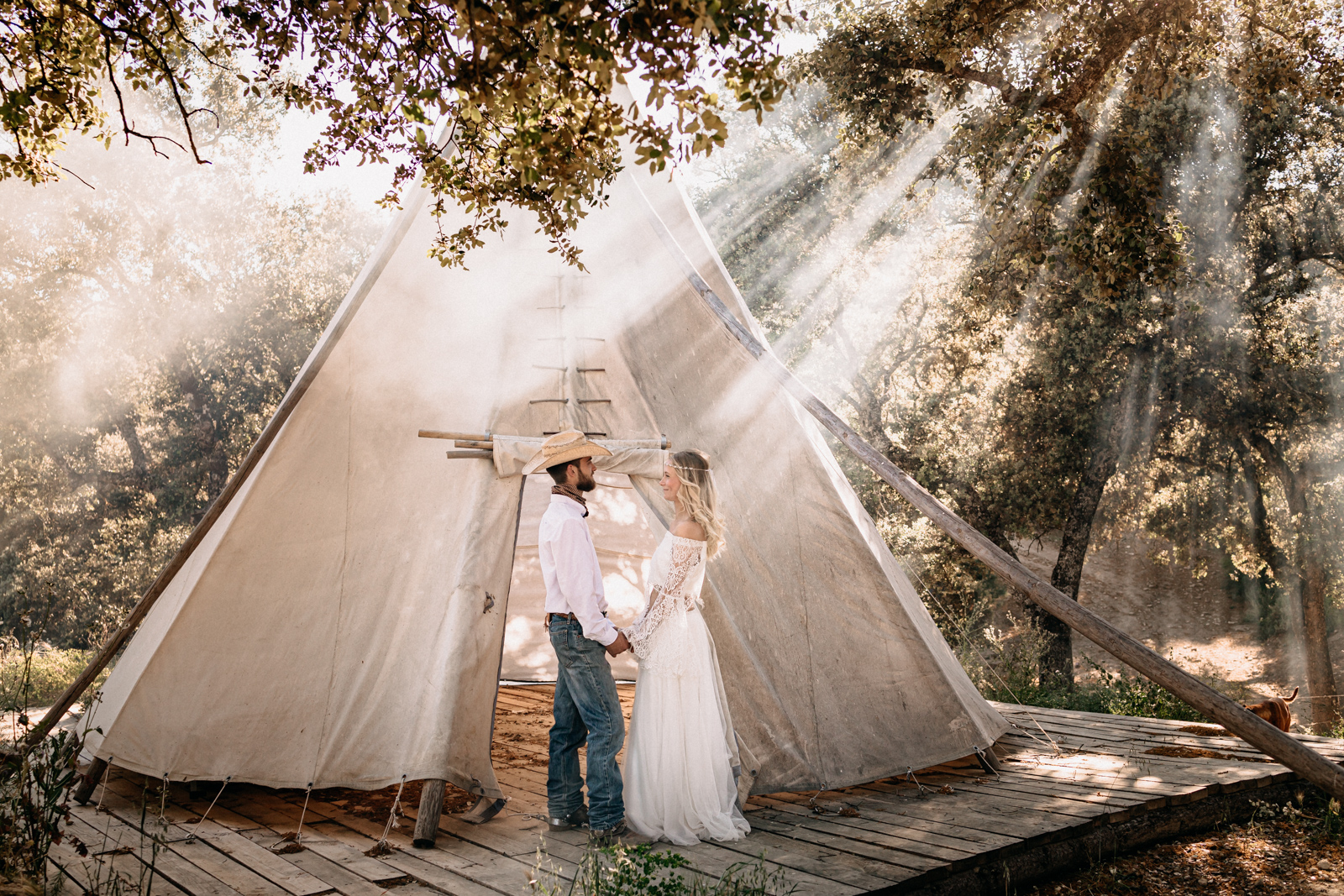 Tipi wedding (Styled Shoot) in Andalusien by Nadja Osieka