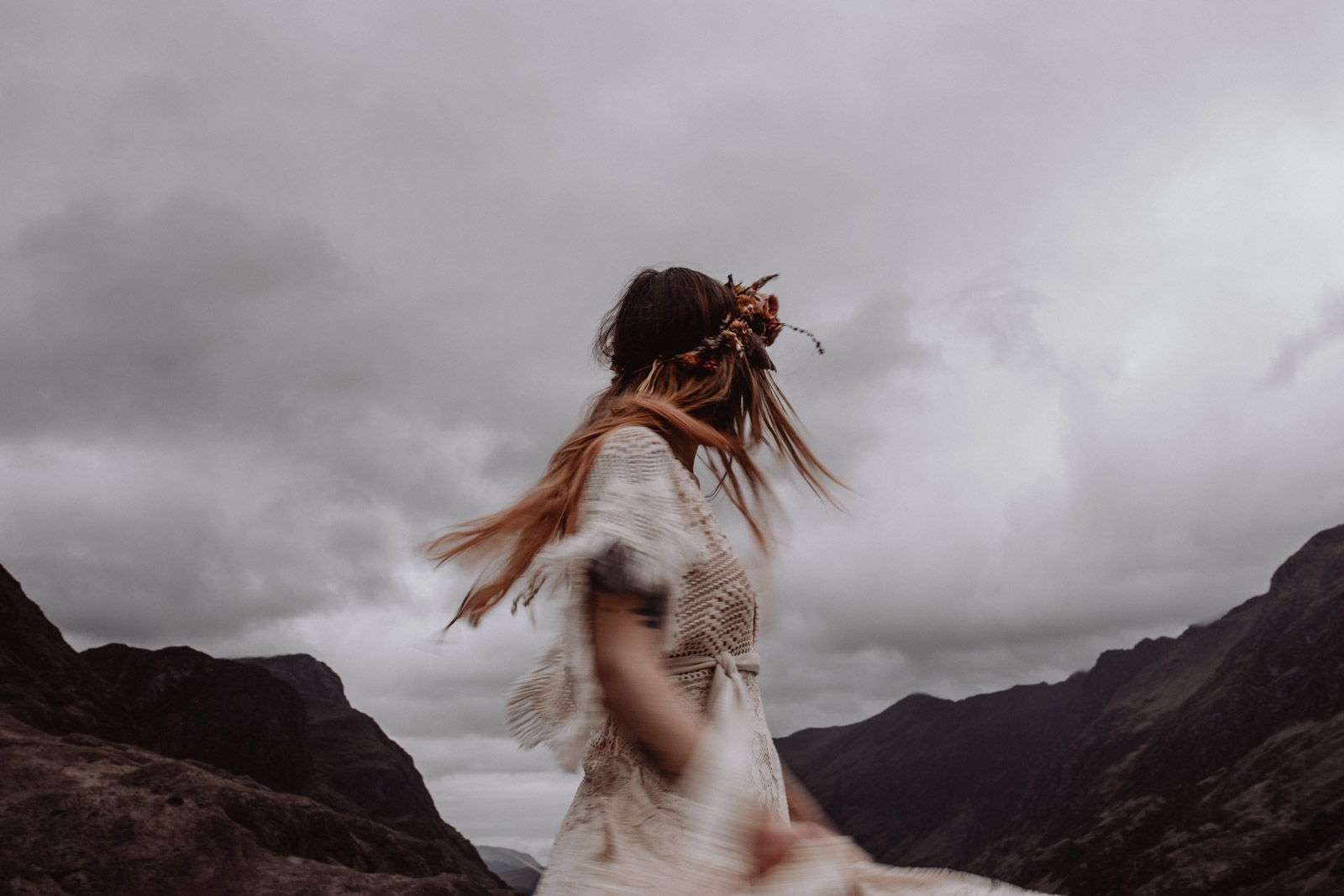 Deep Within The Highlands (Styled Shoot) by Kathrina Schweiger