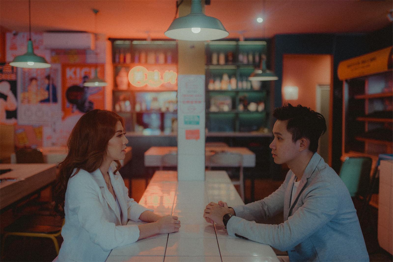 Asian Cuisine Couple Session by Vintage Photoworks