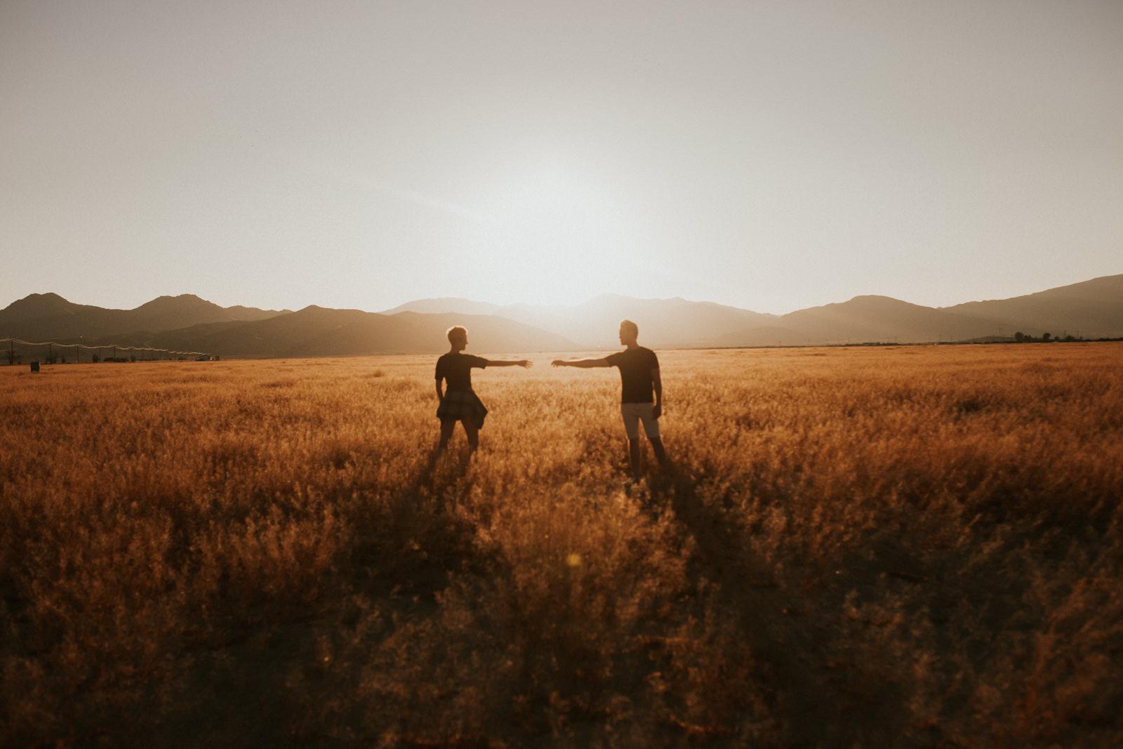 A Desert Love Story by Christin Mortimore