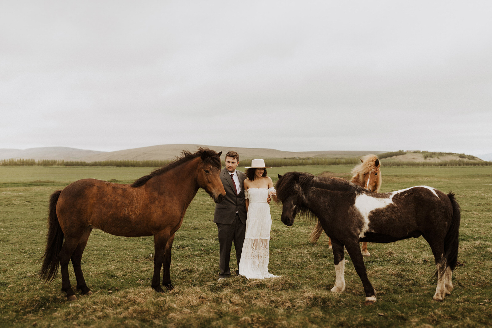 Intimate Iceland Elopement by Brady Bates
