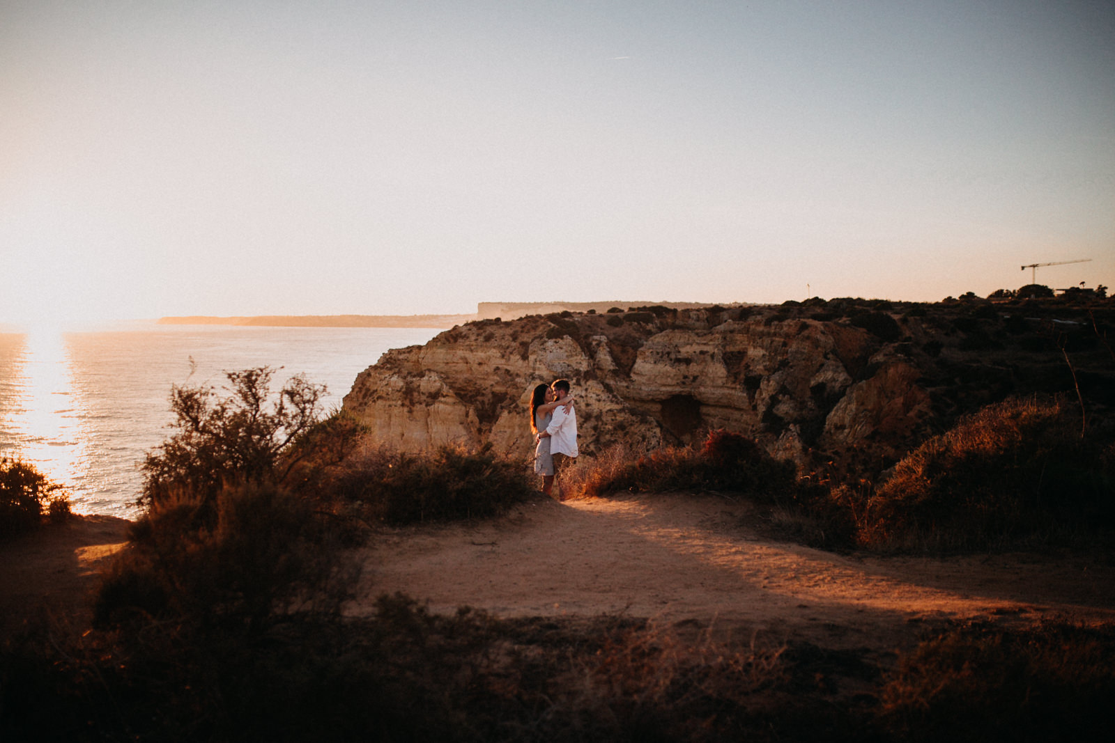 Golden Hour Proposal in Portugal by Jorge Jager