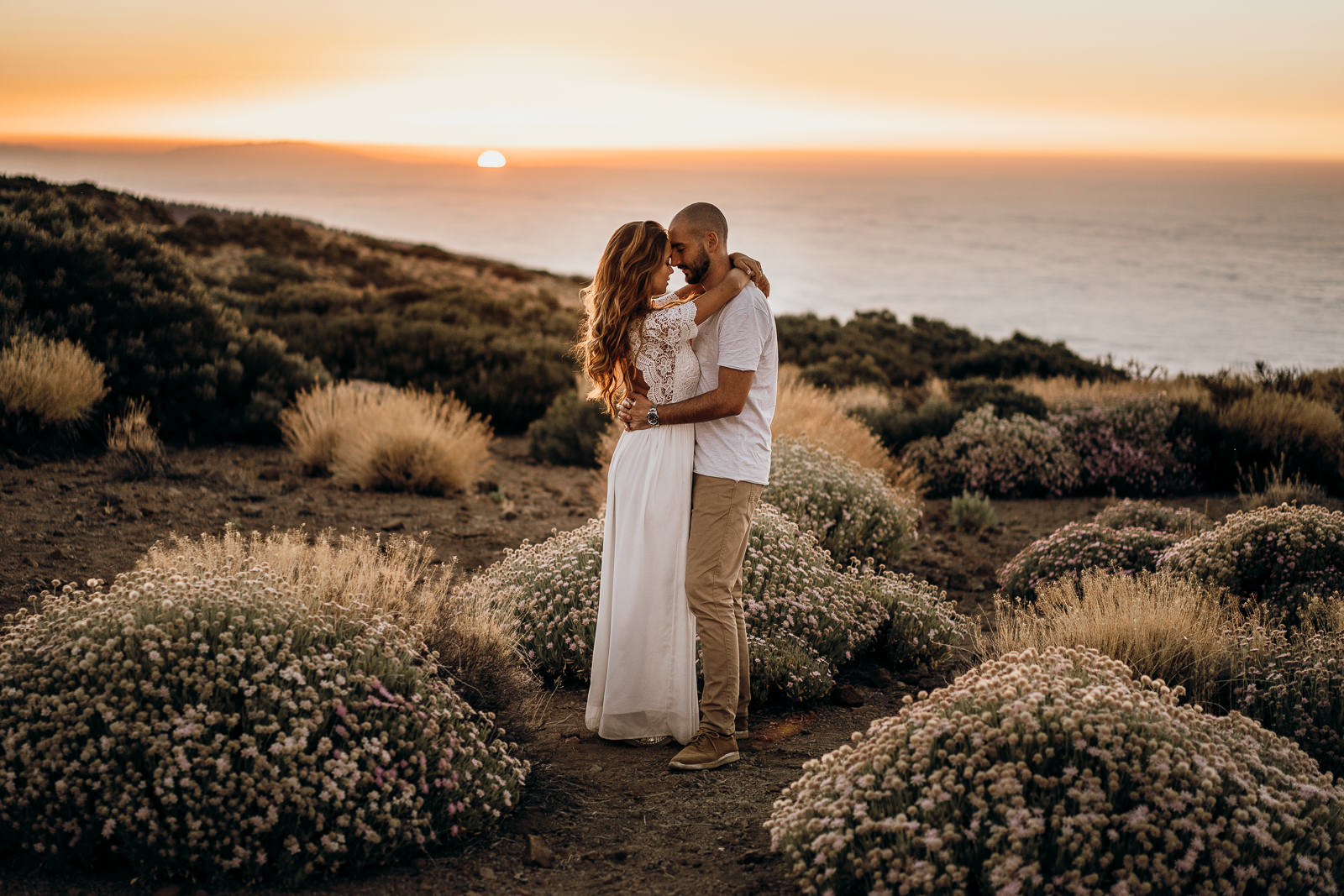 Sunset Shoot on Tenerife by Karina Sowa