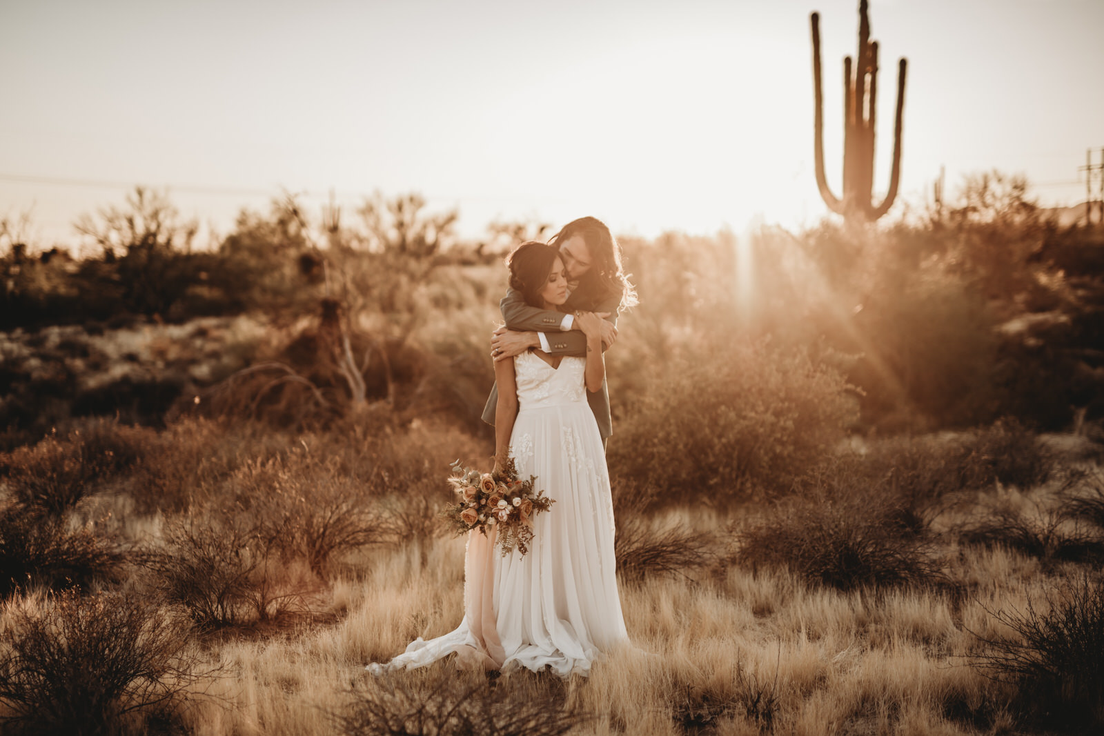 Boho Wedding in the Desert by Twomermaids Photography