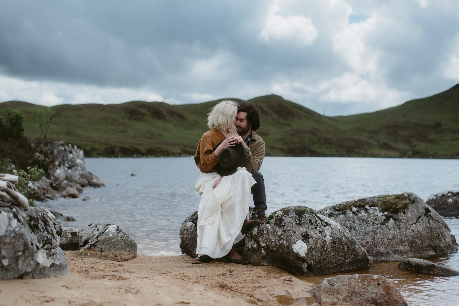 Marriage vows renewal in the Scottish Highlands by Evenart Stories