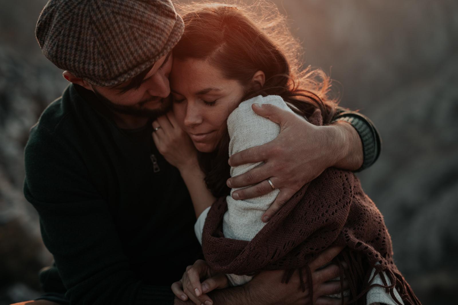 Bianca and Jonut in Transylvania by Lily Vasian