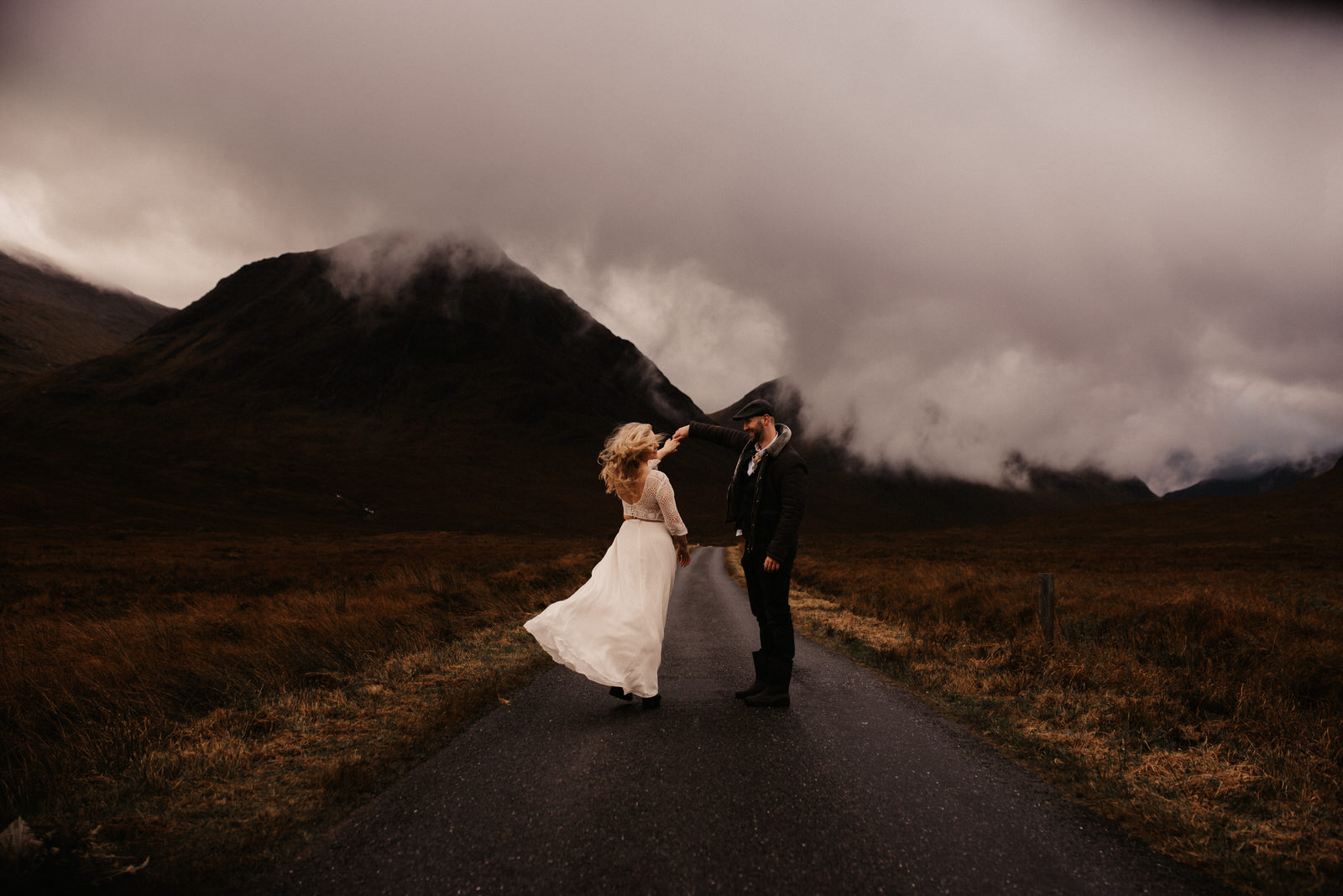 Scottish Highlands Elopement by The Light Painters