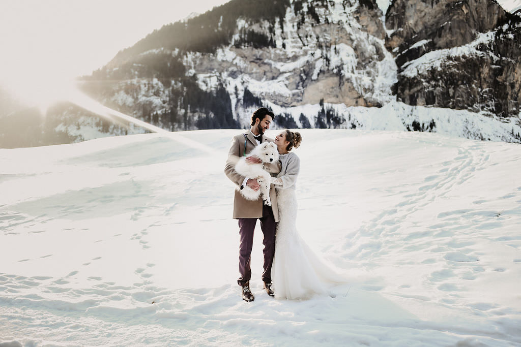 Winterwedding in the Swiss Alps by Cramarts Photography