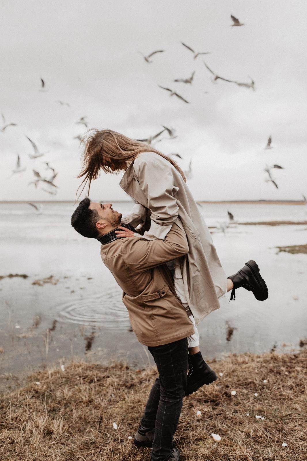 Love & Birds Story with Eliza and Anthony by Emīlija Bogdānova