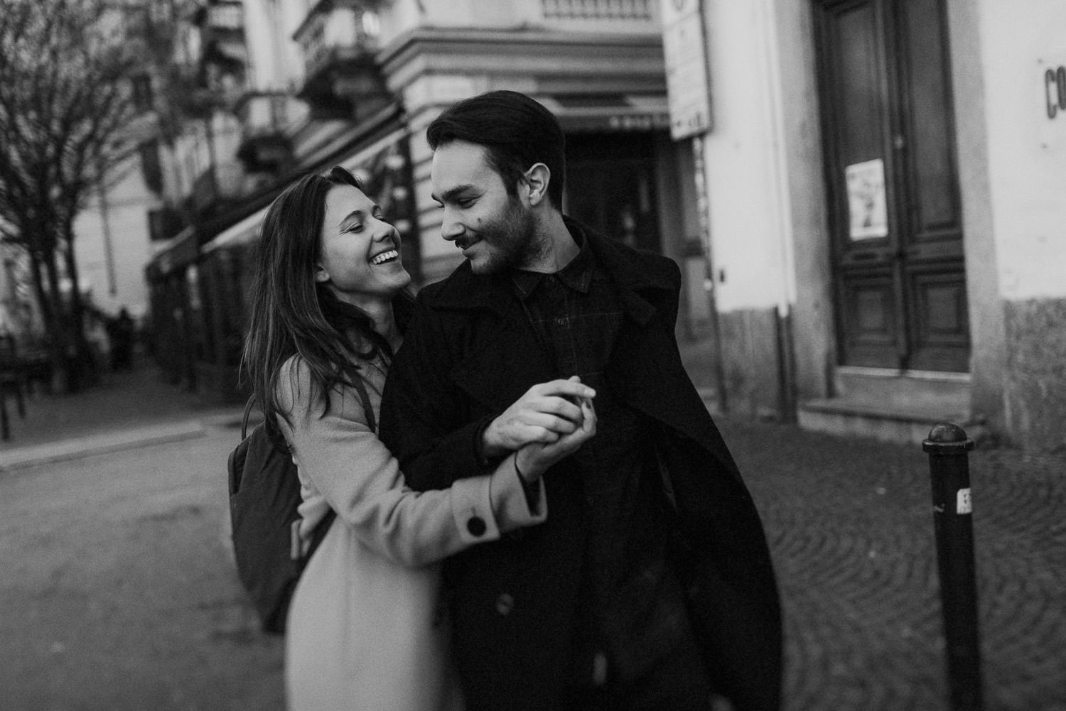Lovers in Turin by Mauro Beoletto