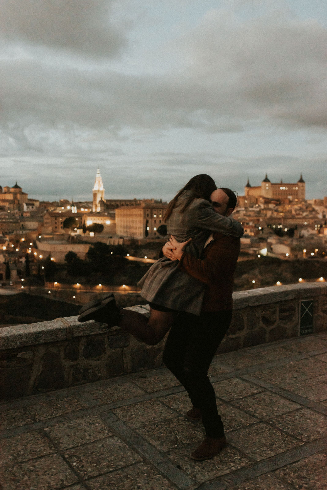 A love story written in Toledo by Sorin & Patricia
