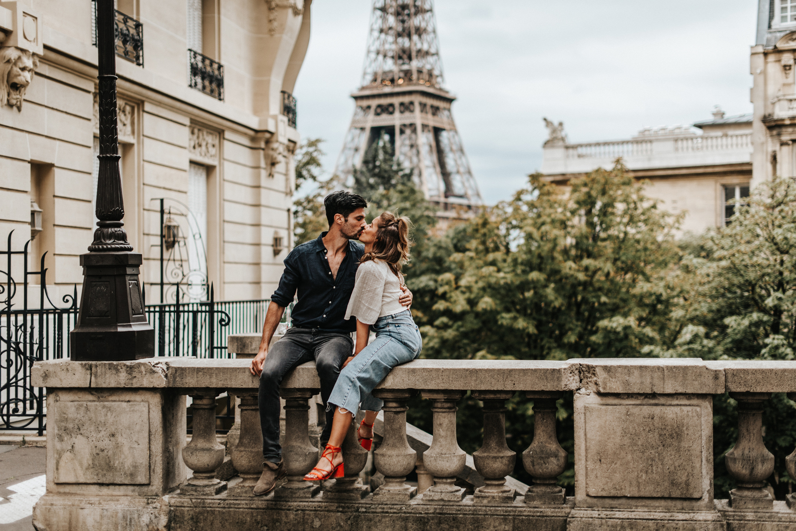 Love on the Streets of Paris by Aljosa Petric