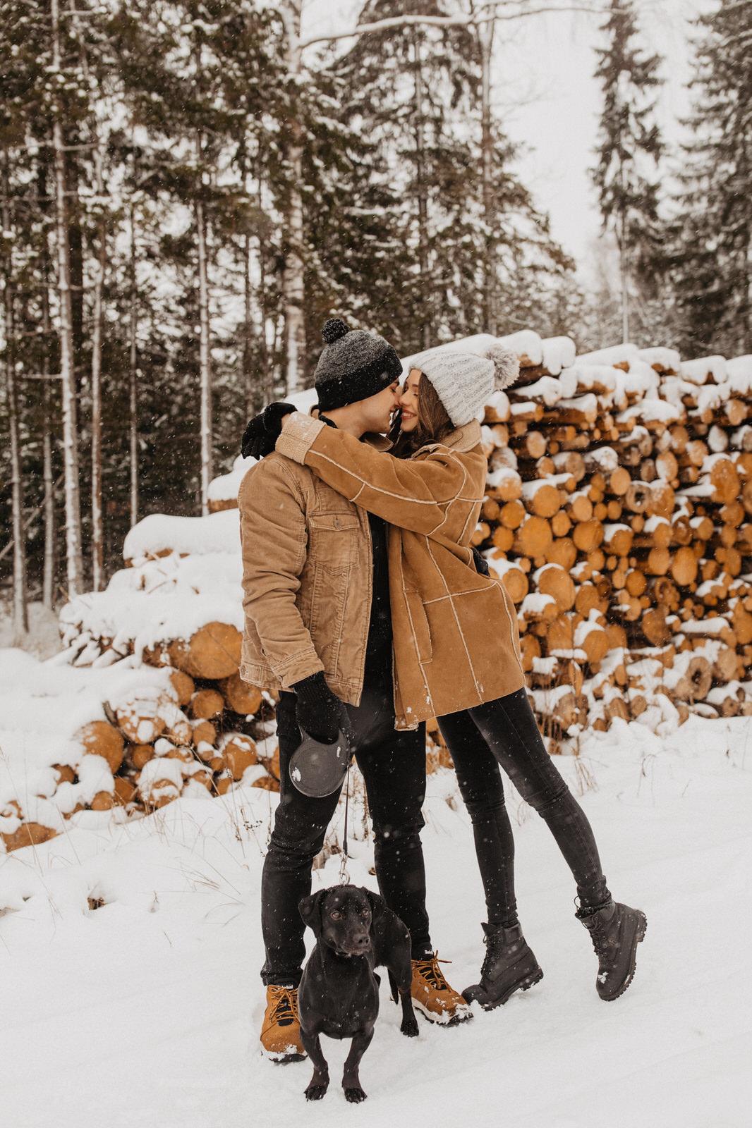 Snowy Days by Emilija Bogdanova
