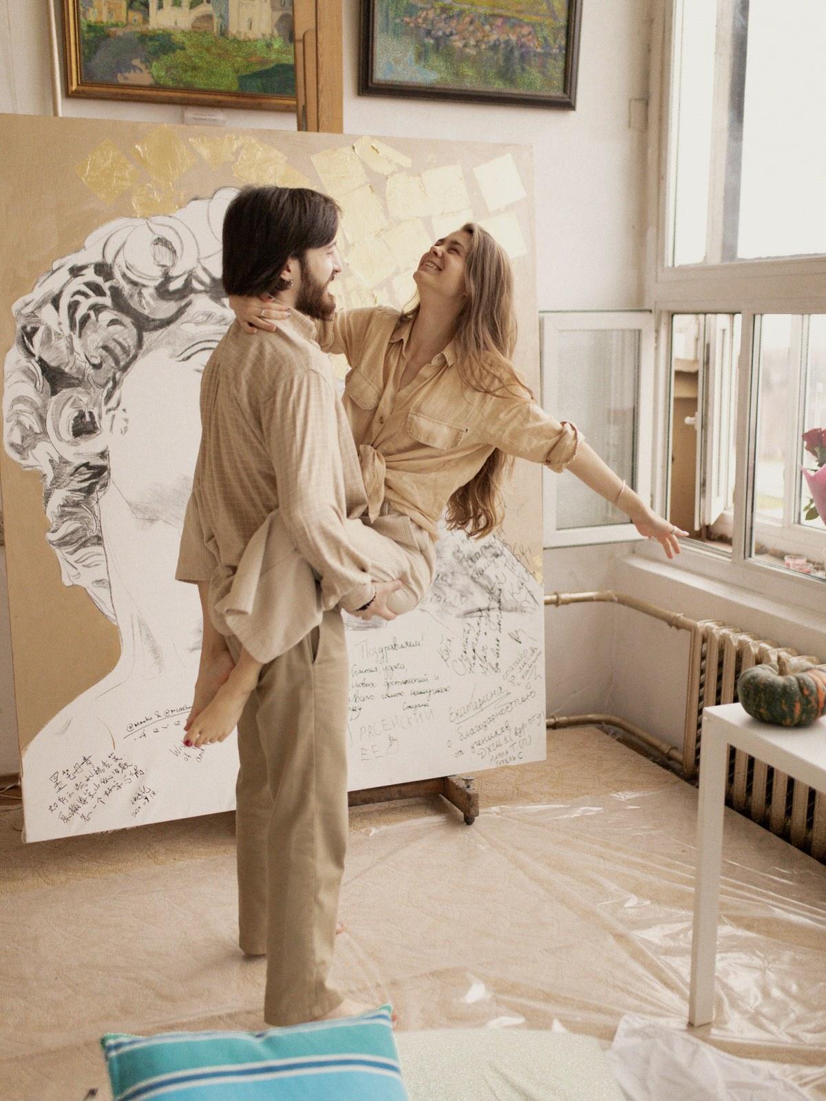 Love Is Art by Butenko