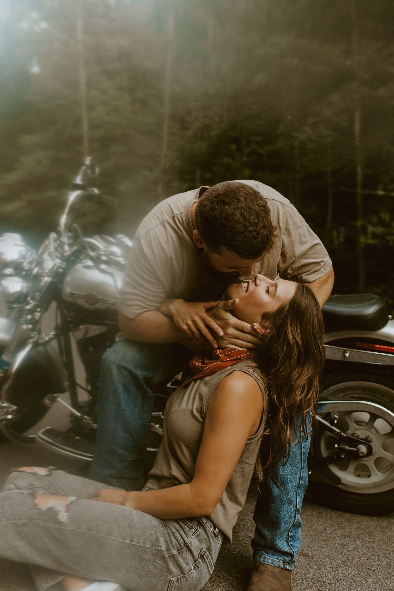 Cool Backroad Love by Chrysa Leigh Photography