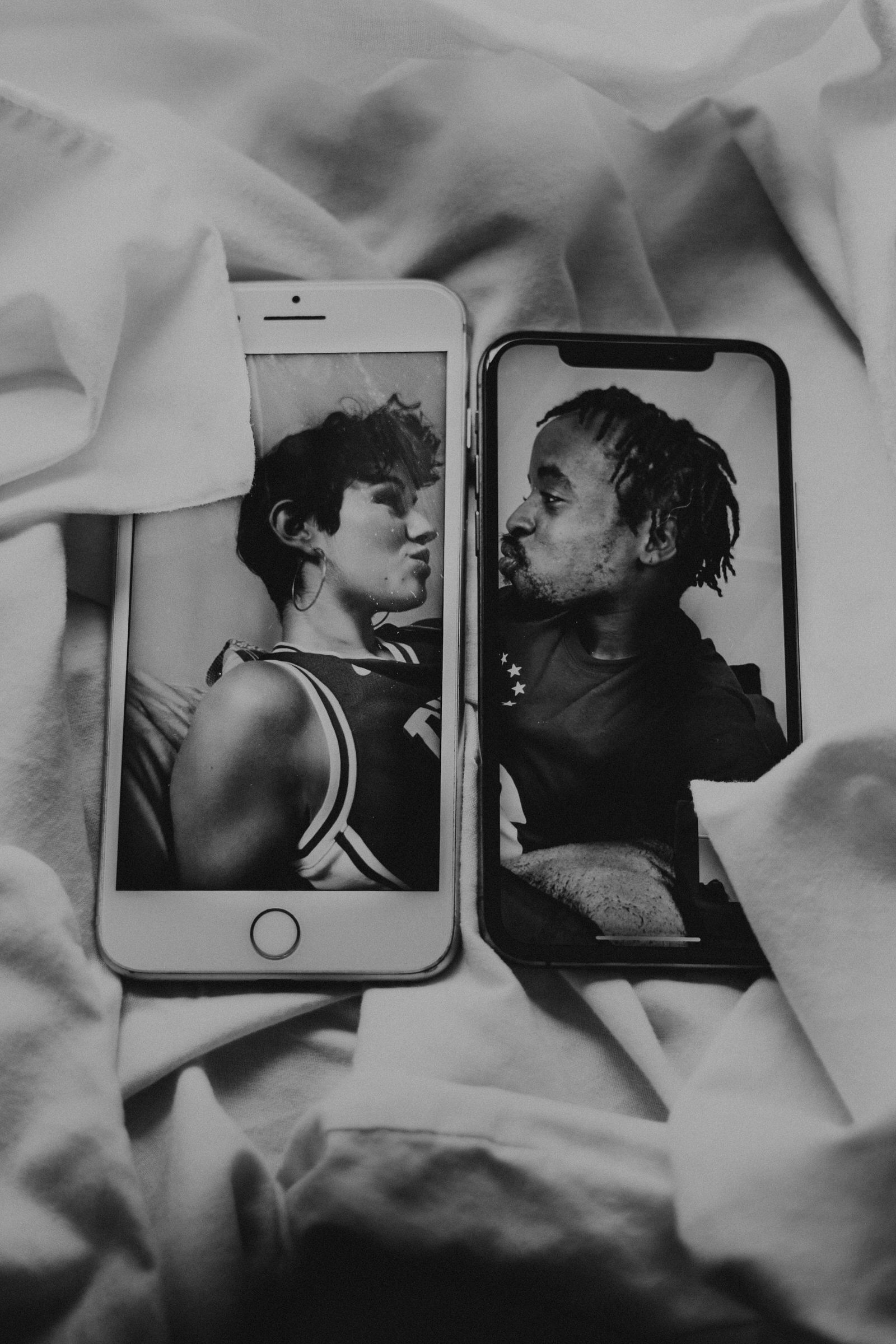 Love Across Screens by Kristelle Boulos Photography