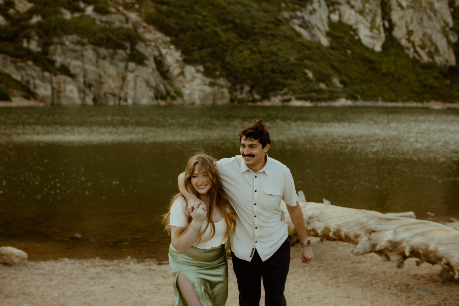Glacier Couples Session by Kait McCafferty Photo + Film