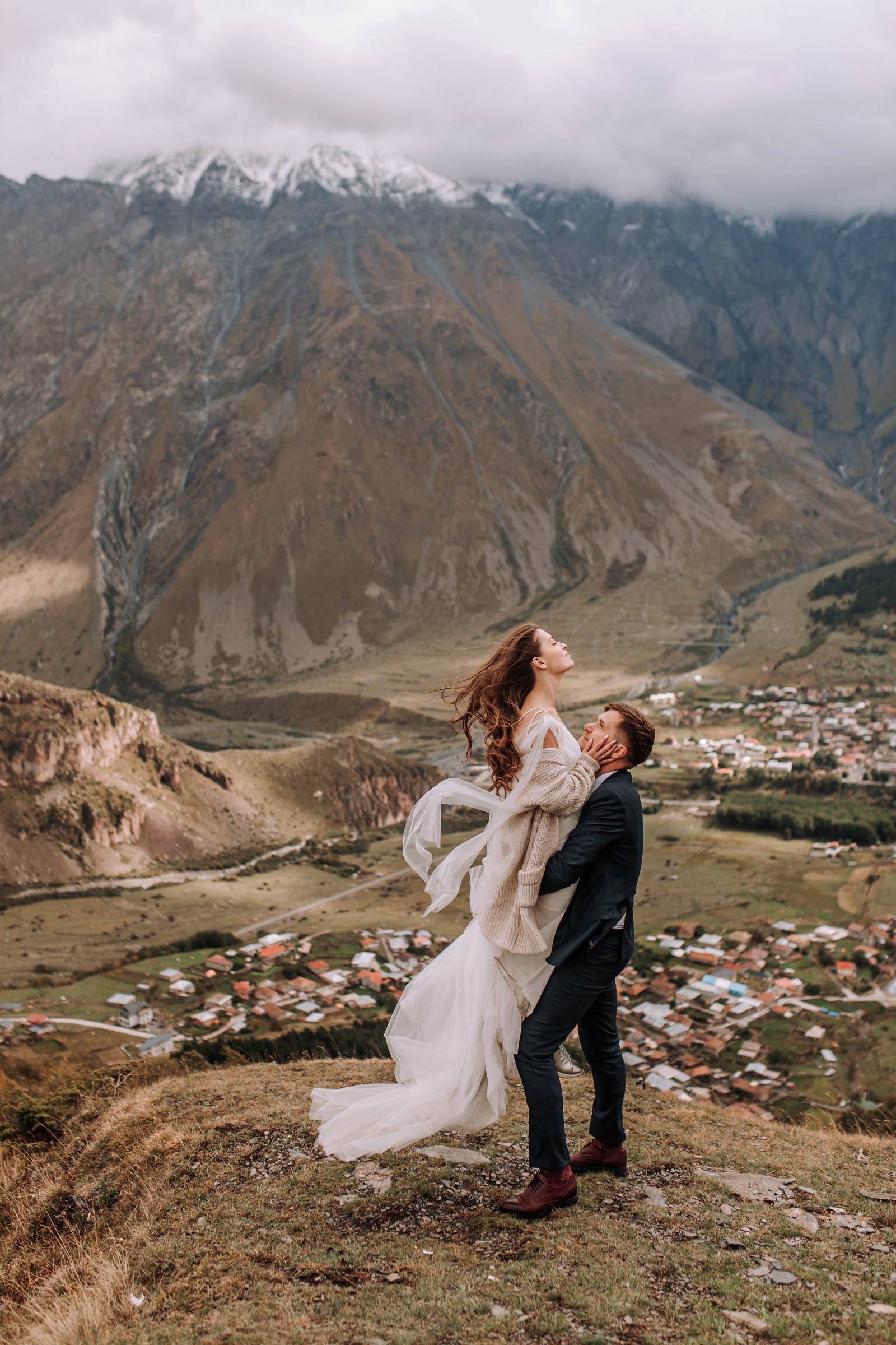 Wedding In Georgia by Antonina Zapotylok