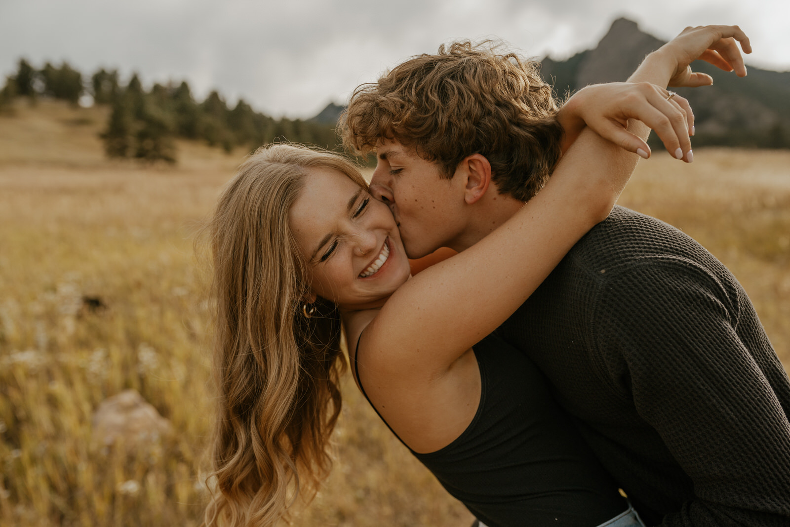 Young Love In The Mountains by Nicholas Dee Photography
